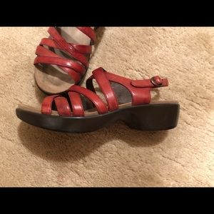 Dansko sandals - size 7 (37)
